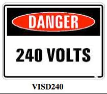 Danger-240volts